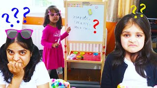 Ashu and Cutie Pretend Play School at Home Education for Kids
