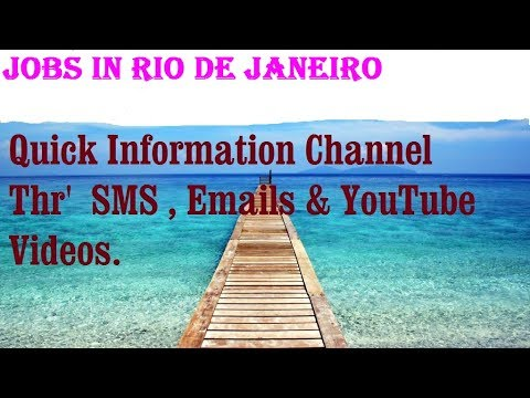 Jobs in RIO DE JANEIRO    City for freshers & graduates. industries, companies.   BRAZIL
