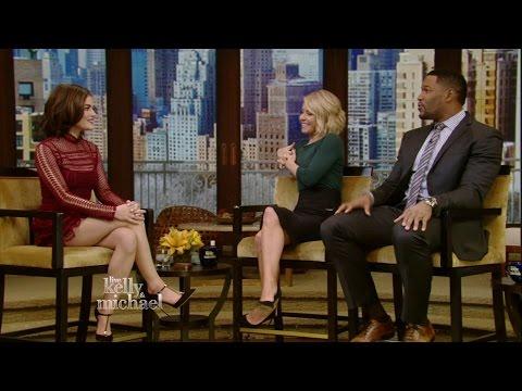 Lucy Hale Talks