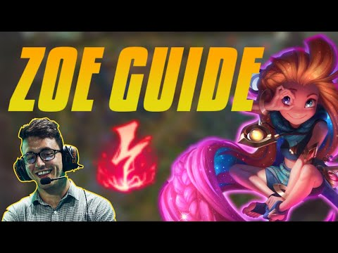 HOW TO PLAY ZOE - Challenger Mid Lane Guide - Step By Step