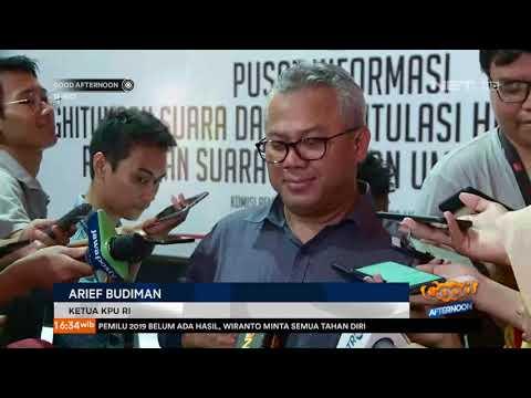 Live Report Kondisi Terkini Rekapitulasi di Gedung KPU