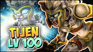 TIJEN (LV 100) COMBATES PVP - Monster Legends Review
