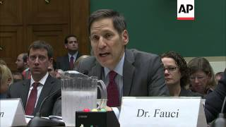 Lawmakers called CDC Director Dr. Tom Frieden to Capitol Hill Thursday to ask tough questions about