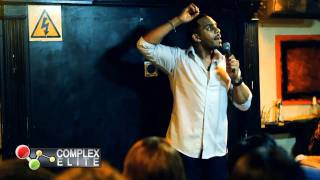 COMPLEXELITE.TV | RICHARD BLACKWOOD @ KOJOS COMEDY FUN HOUSE