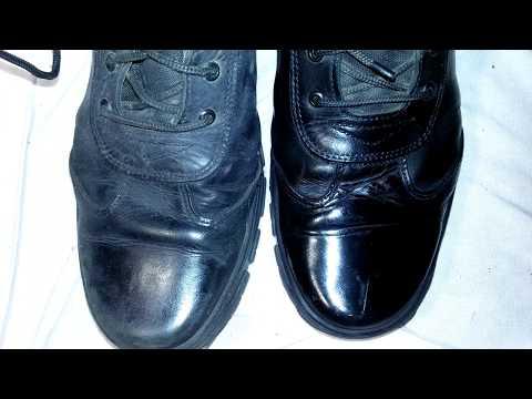 Как придать блеск кожаной обуви в домашних условиях