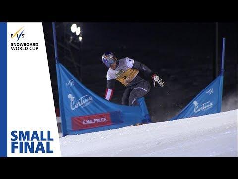 Karl Vs. Prommegger | Small Final | Cortina | Men's PGS | FIS Snowboard
