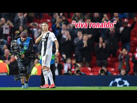 "MERINDING!! Old Traffod Bergema ""viva Ronaldo"" Fans MU Sangat RESPECT Cristiano Ronaldo"