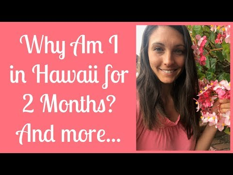 1st Facebook Live! Hello from Maui! And more...