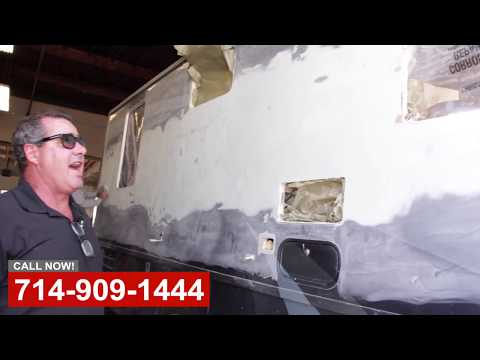RV Crash Repair & Remodel in Orange County CA