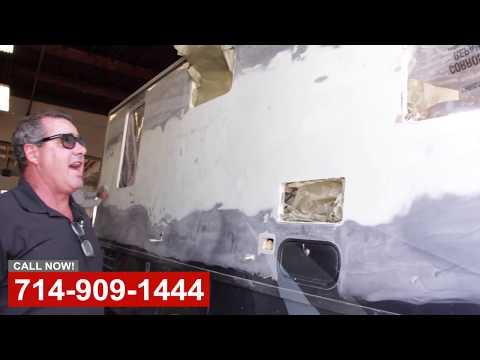 RV Crash Repair & Remodel in Orange County CA