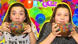 Repeat youtube video Retos con Orbeez, canicas de agua o bolitas de gel. Orbeez Challenge
