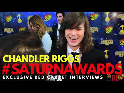 Chandler Riggs #TheWalkingDead interviewed at the 42nd Annual Saturn Awards #SaturnAwards