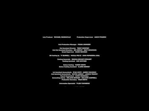The War Of Days 4 - Battle Scars (2015) Closing Credits - WRONG [FAKE VIDEO]
