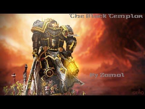 [MINECRAFT CINEMATIC] BLACK TEMPLAR | When minecraft meets Warhammer 40k - By Zamal