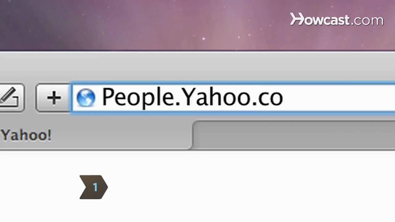 How To Find Someone's Yahoo Mail Address Howcast The Best Howto Videos On  The Web
