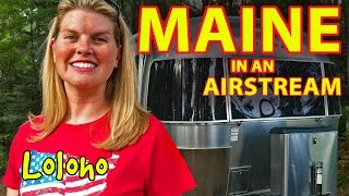 Airstream RV Camping in Maine