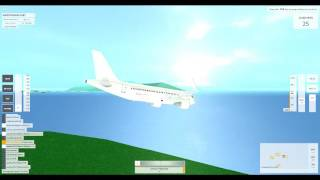 ROBLOX || Airbus A319 Ditching (VFS)