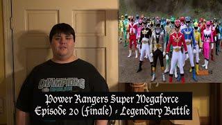 """Power Rangers Super Megaforce Episode 20 FINALE """"Legendary Battle"""" Review"""