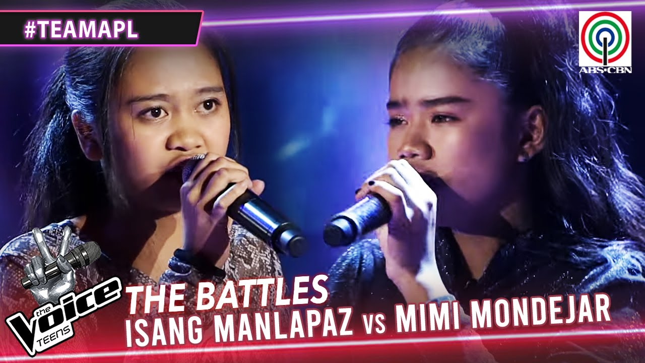 Download Isang Manlapaz vs Mimi Mondejar | The Battles | The Voice Teens Philippines 2020