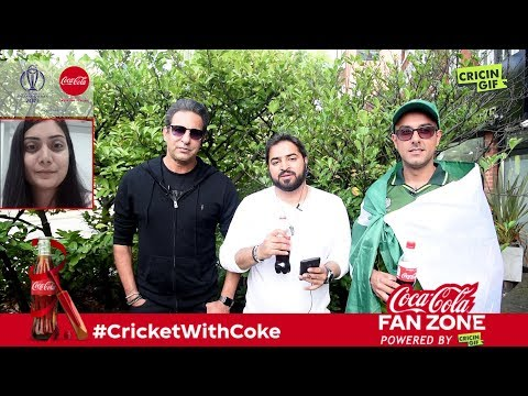 Pakistan vs Bangladesh: Coca Cola Fan Zone Powered by Cricingif