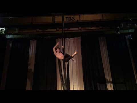 Dust and Ashes aerial silk performance