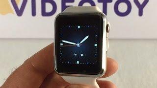 Smart Wath A1 - Умные часы А1 - обзор внешнего вида и функций(Умные часы Smart Watch A1 упакованы в картонную коробку, сделанную под дерево. В коробке часы завернуты в мягкий..., 2016-03-31T10:45:05.000Z)
