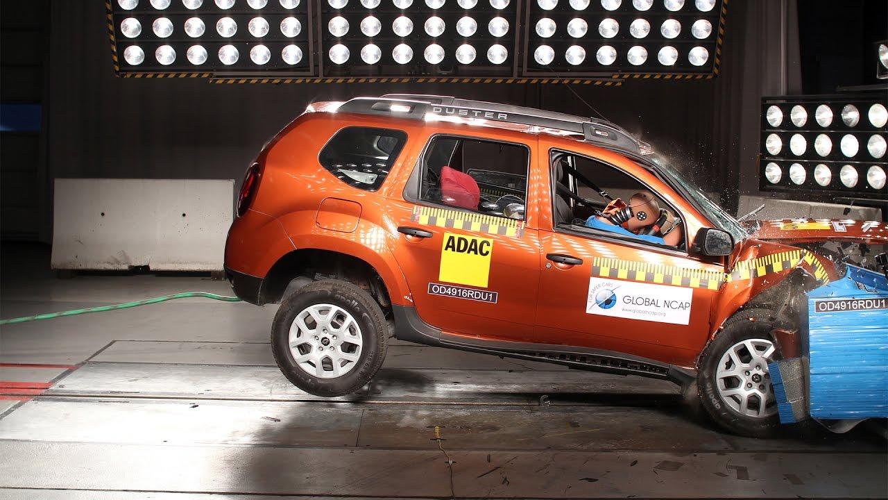 Renault Duster Crash Test Global Ncap Rating 0 Stars