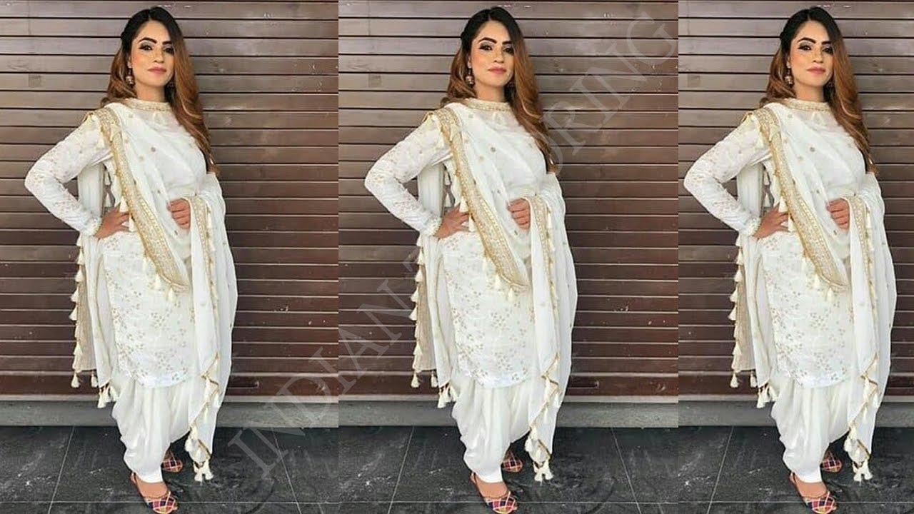 New Panjabi Dresses Designs Designer Panjabi Suit Salwar Kameez Designer Patiala Dresses Designs Youtube