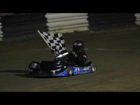 Kart Racing at Limerock Speedway - 8-10-19