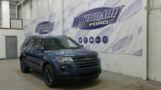 2018 Ford Explorer XLT 202A W/ 3.5L, Command Start Overview | Boundary Ford