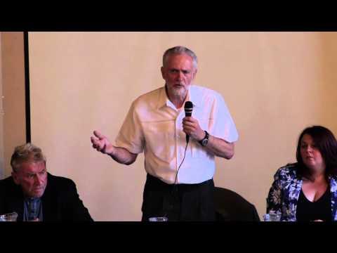 Jeremy Corbyn - Birkenhead Town Hall (9th July 2015)