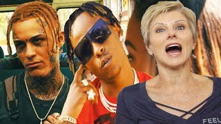 Mom REACTS to Lil Skies - Creeping ft. Rich The Kid (Dir. by @_ColeBennett_)