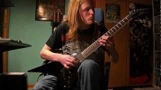 Children of Bodom - Northern Comfort (guitar cover)