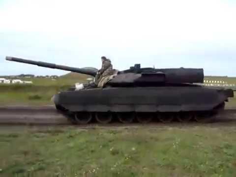 Объект 640 Видео экспериментального танка Черный орел.