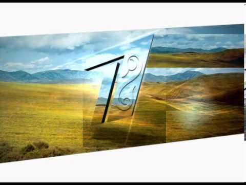 1st channel Eurasia - broadcast design