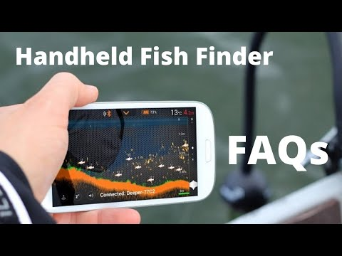 Handheld Fish Finder Frequently Asked Questions (FAQs)