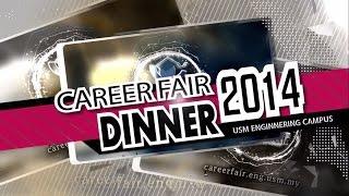 Dinner Opening Video   Career Fair 2014