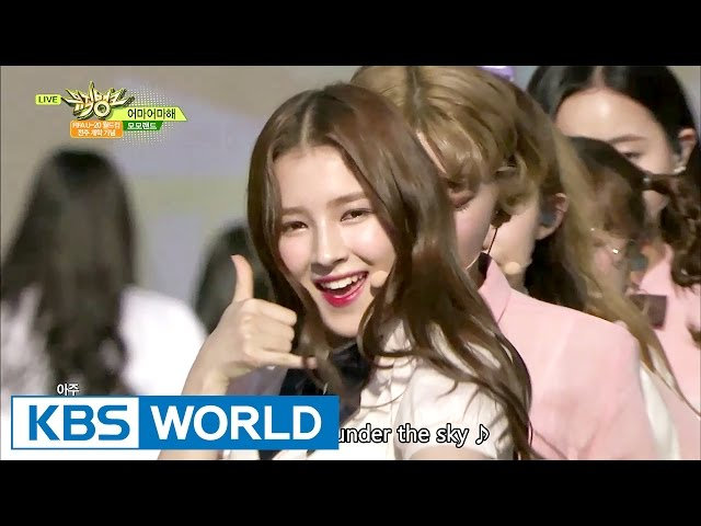 MOMOLAND with DIA - Wonderful Love | 모모랜드 with 다이아 - 어마어마해 [Music Bank / 2017.05.19]