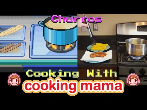 Churros | Cooking with Cooking Mama!