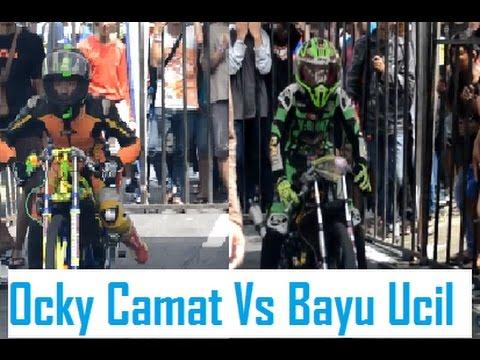 Bayu ucil vreinz  vs Ocky camat Mac23  Final dragbike AHRS - full HD