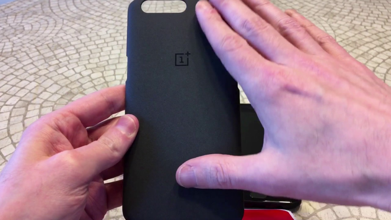 huge selection of 4b14a a64cc Official OnePlus 5 Protective Case Sandstone Unboxing and Review