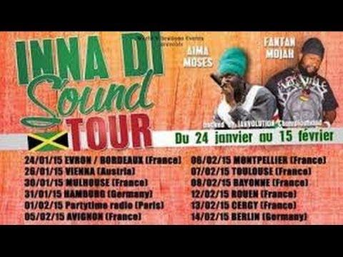 Aima Moses Backed by Jahvolution Championband-Live @ Rouen (France)-12/02/2015 Inna Di Sound Tour]