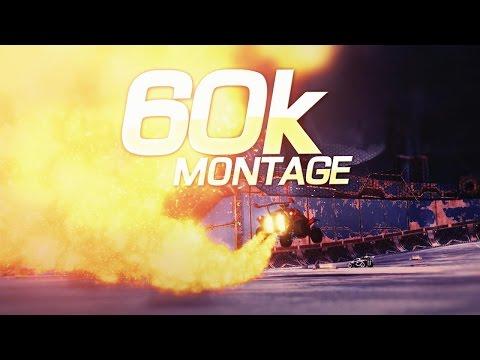 Rocket League - 60k Montage (Editing By Rocket League FX)