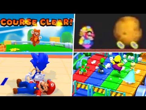Evolution Of Super Mario 3DS Games (2011 - 2019)