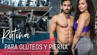 Rutina para GLÚTEOS y PIERNA ft. Karina Heredia | Miss California Latina 2014