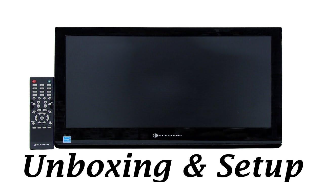 element 32 1080p tv eldfw322 unboxing setup youtube rh youtube com RCA 32 Inch HDTV RCA 32 in LCD