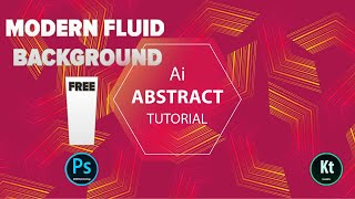 Abstract Background #1 - Blend Tool  - Adobe Illustrator CC 2019