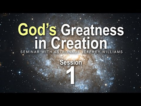 Seminar with Astronaut Jeffrey Williams - Session 1