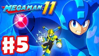 Mega Man 11 - Gameplay Walkthrough Part 5 - Fuse Man Stage! (PC)