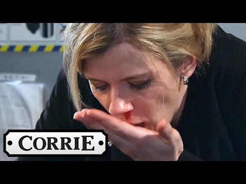 Michelle Punches Leanne After the Truth Comes Out - Coronation Street